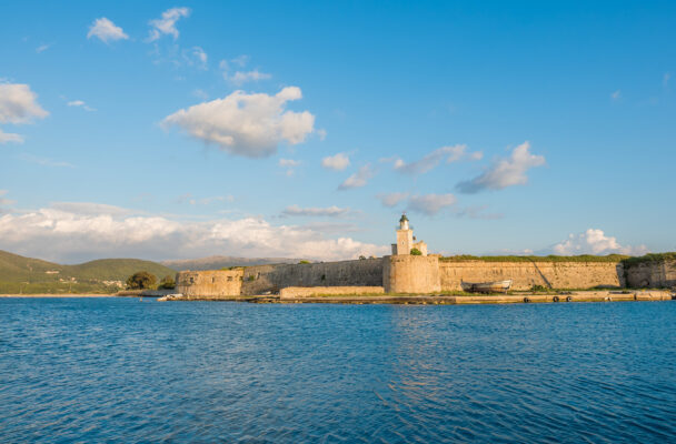 Griechenland Lefkada Burg