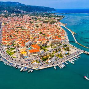 Griechenland Lefkada Stadt