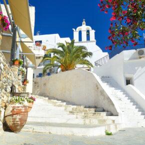 Griechenland Naxos Architektur