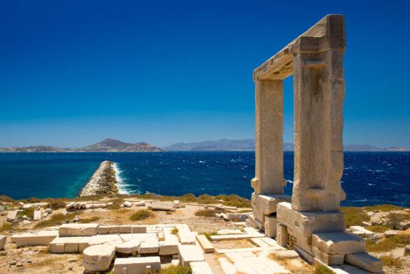 griechischen Inseln Naxos