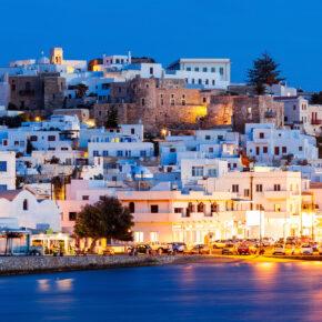 7 Tage auf Naxos im tollen Strandhotel mit Meerblick & Flug nur 85€