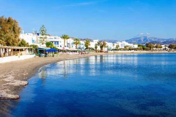 Griechenland Naxos Strand