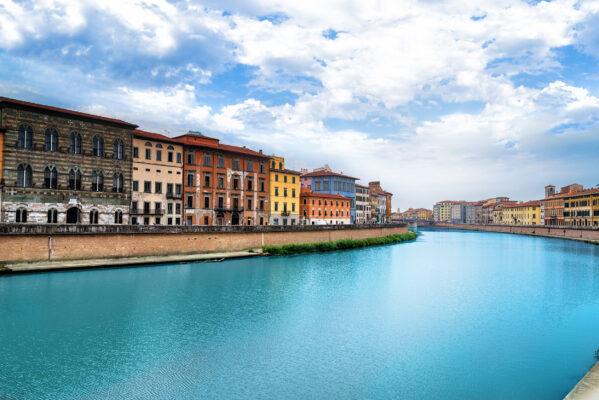 Italien Pisa Fluss