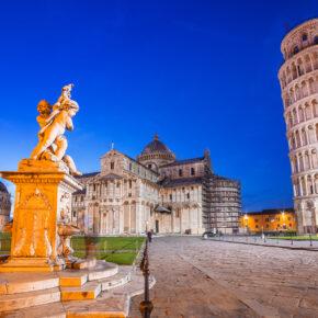 Pisa Tipps: Die Stadt mit dem Schiefen Turm von Pisa
