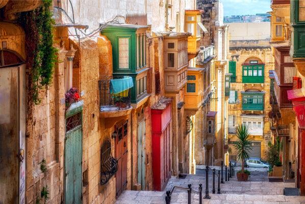 Malta Valetta Stadt