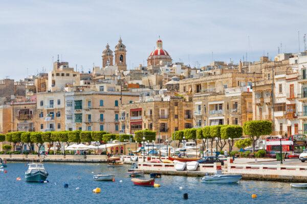 Malta Valleta Hafen