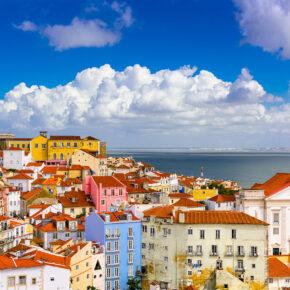 Wochenende in Portugal: 3 Tage Lissabon mit Unterkunft, Frühstück & Flug nur 43€