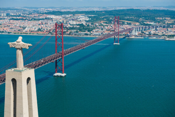 Portugal Lissabon Cristo Rei