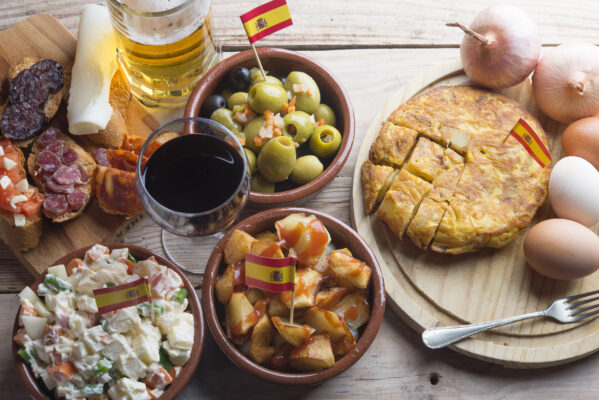 Spanien typisches Essen