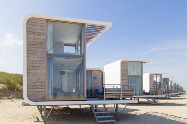 Glamping am Strand: Strandhäuser in Holland ab 59 ...
