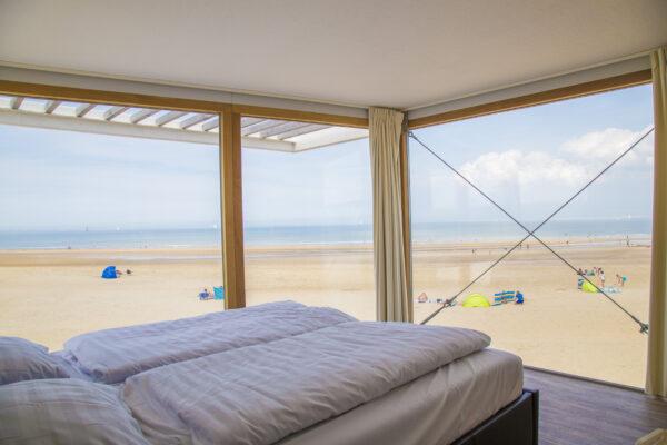 Strandweelde Strandhaus Schlafzimmer