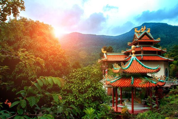 Koh Phangan Tempel