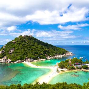 Thailand: 20 Tage auf Koh Phangan im guten 3* Strandresort mit Flug für 535€