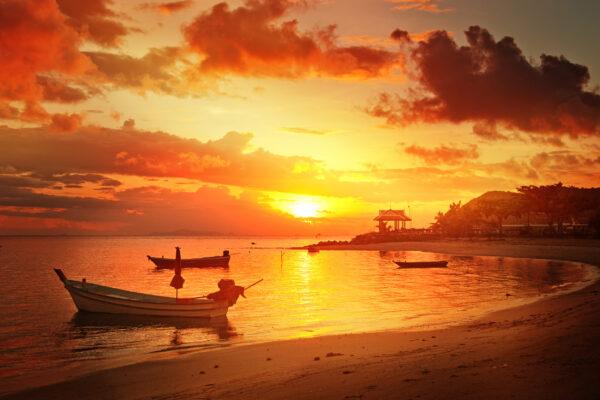 Koh Phangan Sonnenuntergang