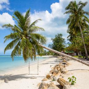 Asien ruft: 14 Thailand mit eigenem Bungalow auf Koh Phangan direkt am Strand mit Flug nur 444€