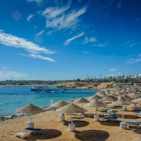Luxus Ägypten: 7 Tage im TOP 5* Hotel mit All Inclusive, Flug, Transfer & Zug nur 360€
