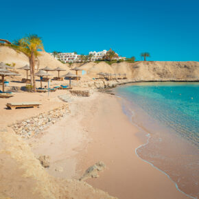 Kracher: 7 Tage Hurghada im TOP 4* Hotel mit All Inclusive, Flug, Transfer & Zug nur 366€