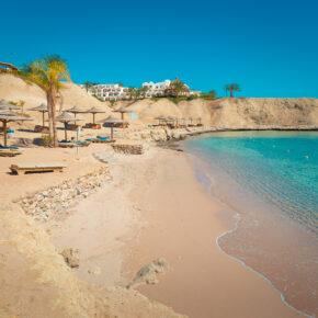 Frühbucher: 7 Tage Hurghada im TOP 5* Hotel mit All Inclusive, Flug, Transfer & Zug nur 322€