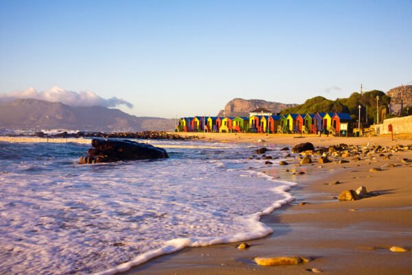 Afrika Kapstadt St. James Strand