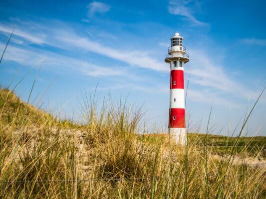 Belgien Nordsee Leuchtturm