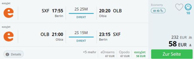 Berlin Olbia