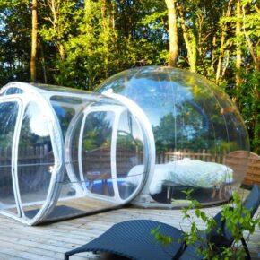 Außergewöhnlich: 2 Tage im Bubble Hotel in Frankreich mit Frühstück für 82€