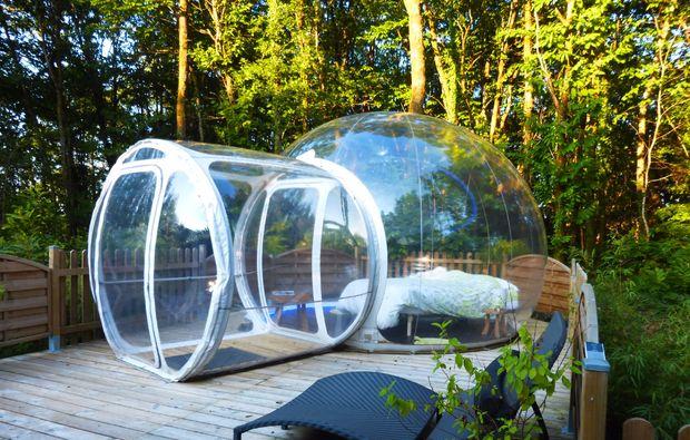 Bubble Hotel Dournazac Außen