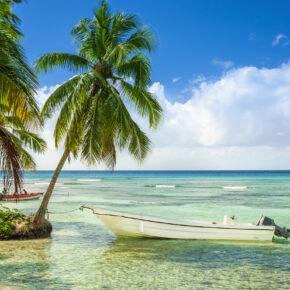 Dominikanische Republik Boot