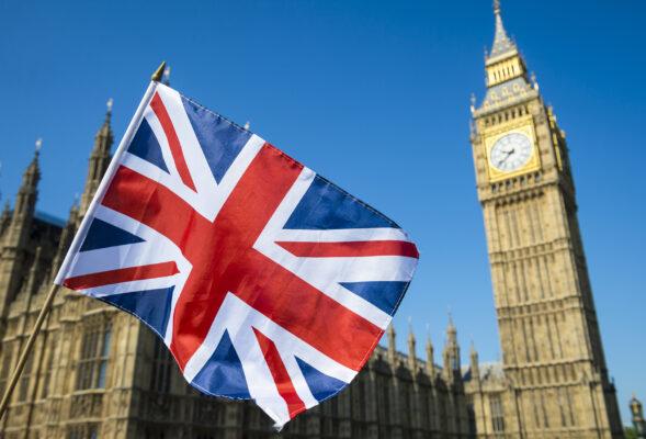 England London Flagge