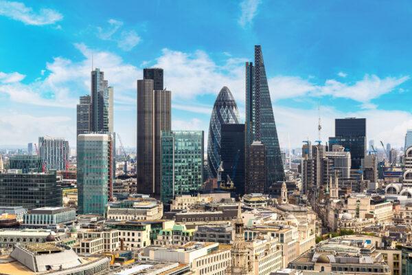 England London Skyline
