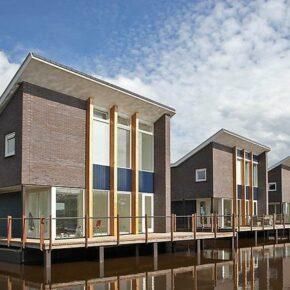 Niederlande: 8 Tage in privater Villa auf dem Wasser mit Sauna nur 151€