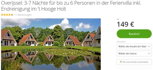 Ferienvilla Holland