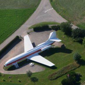 Flugzeug Chapelle Aux Bois Oben