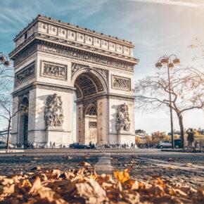 Frankreich Paris Triumphbogen