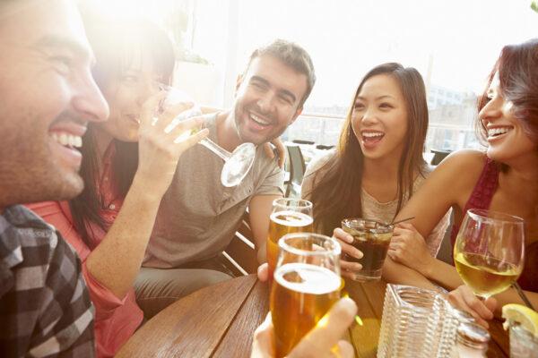 Freunde Bar Bier