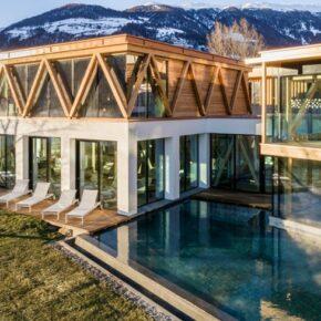 Wellness in Südtirol: 3 Tage im TOP 4* S Designhotel mit Halbpension & Extras nur 249€
