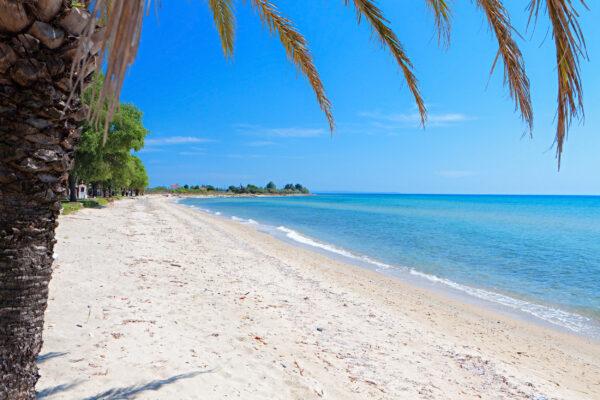 Griechenland Chalkidiki Strand