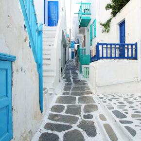 Traumhaftes Mykonos im Sommer: 5 Tage im 4* Hotel mit Flug nur 187€