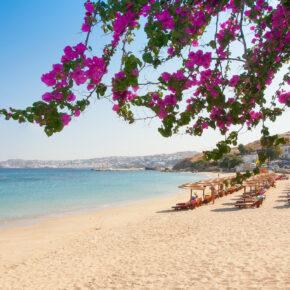 Griechenland im Frühling: 8 Tage auf der Insel Mykonos mit Unterkunft & Flug nur 135€