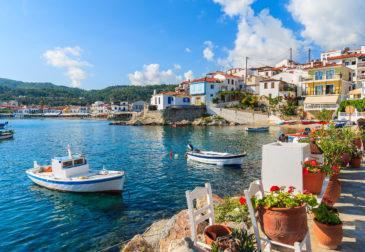 Griechenland: 7 Tage Rhodos im TOP 5* Hotel inkl. Halbpension, Flug, Transfer & Zug für 43...