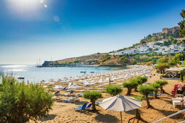 Griechenland Rhodos Lindos