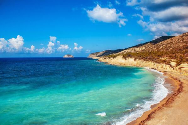Griechenland Rhodos Strand