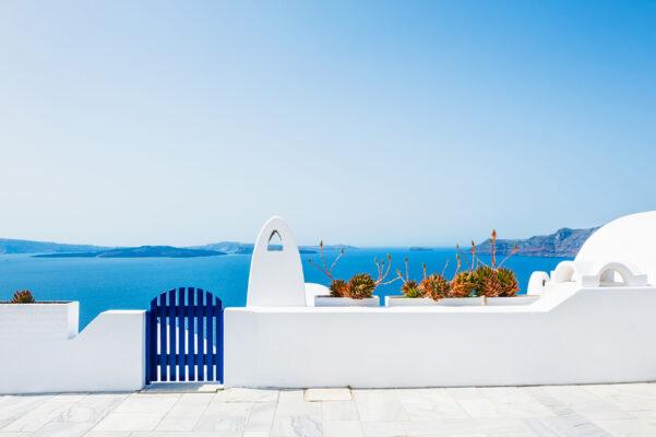 Griechenland Santorini Architektur