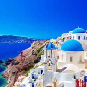 Last Minute nach Griechenland: 8 Tage Santorini im 4* Hotel mit Flug nur 178€