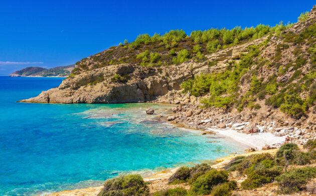 Griechenland Thassos Strand