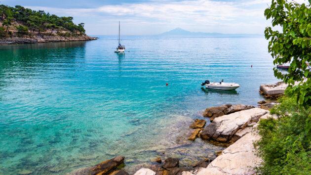 Griechenland Thassos Aliki