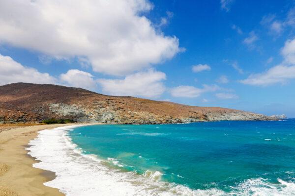 Griechenland Tinos Strand