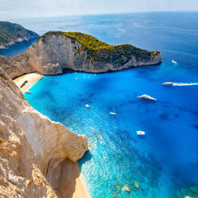Sommer 2021 auf Zakynthos: 8 Tage im 3* Hotel inkl. Frühstück & Flug nur 198€