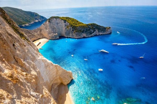 Griechenland Zakynthos Aussicht
