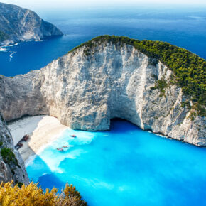 Griechenland im Sommer: 8 Tage Zakynthos mit guter Unterkunft & Flug nur 199€
